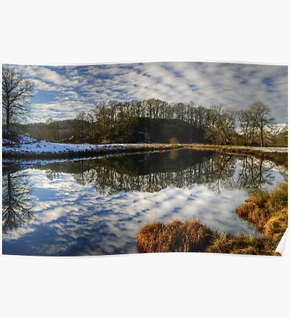 Reflections In The Brathay Poster