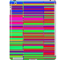 Spectrum data glitch iPad Case/Skin