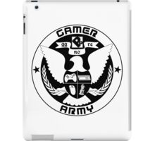 Gamer Army iPad Case/Skin