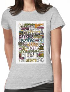 Deepest Fear Womens Fitted T-Shirt