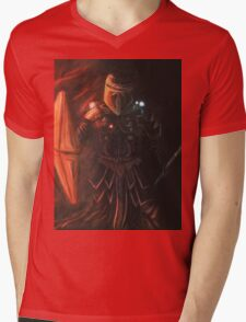 Interstellar Knight Mens V-Neck T-Shirt