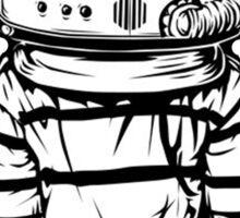 astronaut bowie Sticker