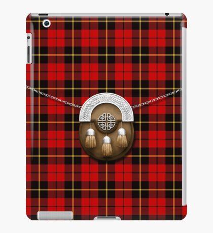 Clan Wallace Tartan And Sporran iPad Case/Skin