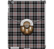 Clan Thompson Tartan And Sporran iPad Case/Skin