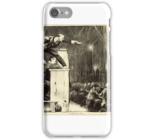 George Wesley Bellows , BILLY SUNDAY iPhone Case/Skin