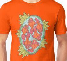 Rainbow Fish Pond Unisex T-Shirt