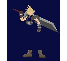 Final Fantasy VII Cloud Minimalist Photographic Print