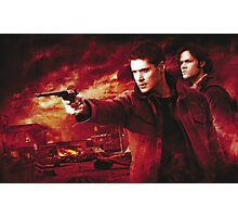 Supernatural Winchester Brothers Photographic Print