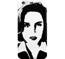X-Files - Dana Scully iPhone Case/Skin