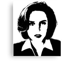X-Files - Dana Scully Canvas Print