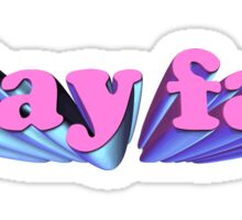 STAY FAB Sticker