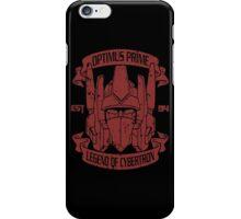 Legend Of Cybertron - Optimus iPhone Case/Skin
