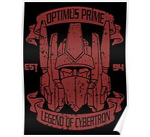 Legend Of Cybertron - Optimus Poster