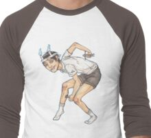 Souichi (Junji Ito Fanart) Men's Baseball ¾ T-Shirt