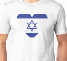 A Heart for Israel Unisex T-Shirt