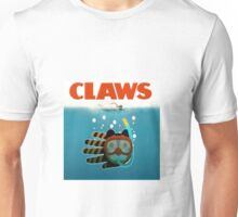 Claws play on Jaws Unisex T-Shirt