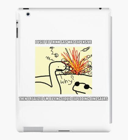 Exploding Dinosaurs iPad Case/Skin