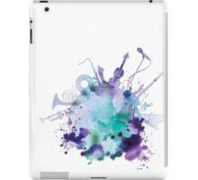 Watercolor Music iPad Case/Skin