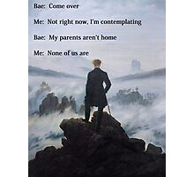 Come over Photographic Print