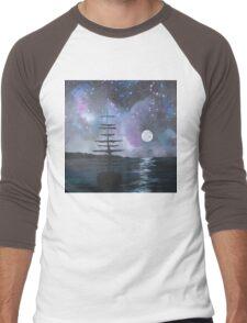 Neverland at Night 2 Men's Baseball ¾ T-Shirt