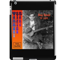 Tammany String Band Sing Songs of Love! iPad Case/Skin