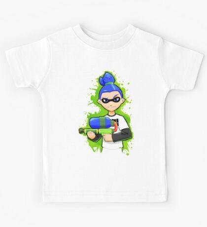 Splatoon Inkling Boy Kids Tee