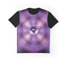 Music speaker on a purple background Graphic T-Shirt