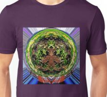 Abstract flowers as art Unisex T-Shirt