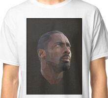 Idris Elba Low-Poly Classic T-Shirt