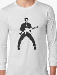 Rockin Elvis Long Sleeve T-Shirt