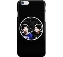 Dan and Phil Astrological Circle iPhone Case/Skin