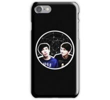 Dan and Phil Astrological Circle iPhone Case/Skin