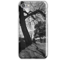 Eerie Cemetery iPhone Case/Skin