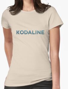 Kodaline Wave design Womens Fitted T-Shirt