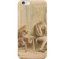 Marcus Stone The Person of the House and the Bad Child iPhone Case/Skin
