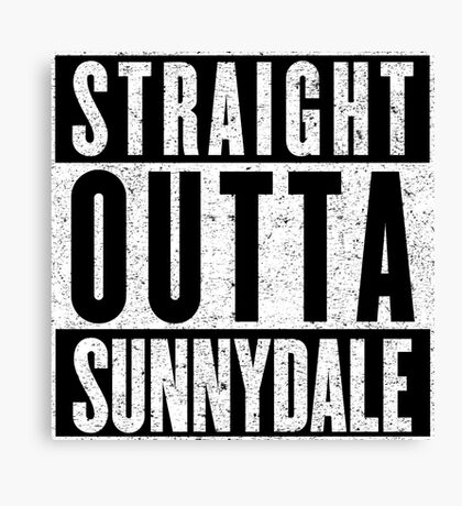 Sunnydale Represent! Canvas Print