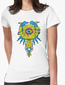 Amulet Womens Fitted T-Shirt