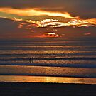 Glowing Clouds ~ Imperial Beach, California by Marie Sharp