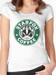 New Starfox Coffee Women's Fitted Scoop T-Shirt