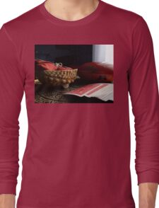 STILL LIFE IN RED Long Sleeve T-Shirt