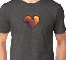 Broken pixel heart Unisex T-Shirt