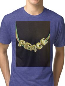Just Peace Tri-blend T-Shirt