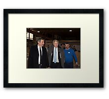 Boris Johnson, Mayor of London  Framed Print