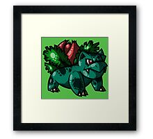 No.#002 Ivysaur Framed Print