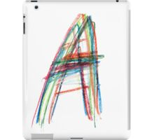 Anarchy colors iPad Case/Skin