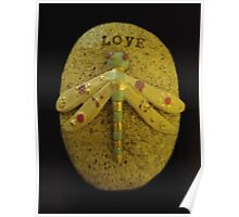 Dragonfly Love Poster