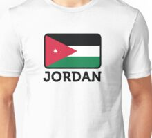 National flag of Jordan Unisex T-Shirt