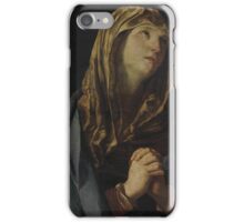 Guido Reni, Madonna in preghiera, Made of olio su tela iPhone Case/Skin