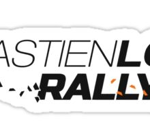 sebastien loeb rally evo Sticker