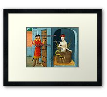 Don't be silly Framed Print
